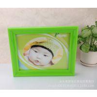 照片墙横竖相框宝宝创意影楼相框10寸相框(玫红、白、绿)7643
