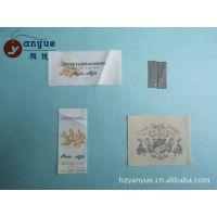 供应杭州印刷厂家 订做丝网印商标 定做丝网印吊牌