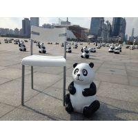 供应仿真熊猫雕塑|深圳熊猫雕塑厂家价格
