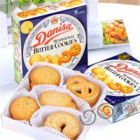 供应丹麦皇冠牛油曲奇饼干进口清关报关 休闲食品进口关税 清关流程
