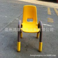 儿童塑料桌椅 幼儿园专用课桌椅 儿童靠背椅子批发环保无味