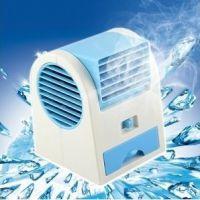 空调香味风扇  创意香水空调扇 无叶迷你涡轮小风扇 香水座风扇