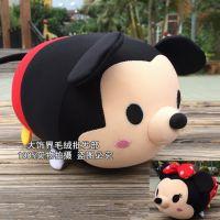 热卖中可爱的情侣米奇米妮米老鼠泡沫粒子公仔纳米毛绒玩具汽车