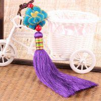原创民族特色纯手工流苏挂件 家居、包包、车饰挂件 一件代发