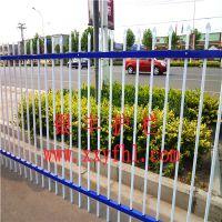 河南省新乡围墙栏杆厂家热镀锌钢喷塑护栏组装护栏厂家