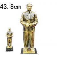 毛泽东毛主席铜像树脂像开国大典43.8cm商务会销礼品办公家居摆件