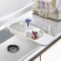 日本原装进口SANADA厨房水槽滤水置物架果蔬清洗沥水架