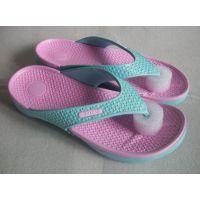 供应 夏季新款女式人字拖鞋 女式糖果拼色平底拖鞋 家居凉拖鞋女