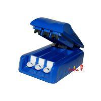 义乌批发 颜色多种 雅宁烟具供应 YN-003 迷你型 3管 填充器烟具