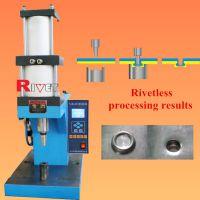 瑞威特无铆钉铆接机,气液增压无铆钉铆接机,通风管道加工设备,金属板件连接设备