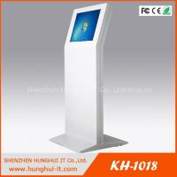 19 inch touch screen queue management kiosk machine