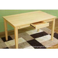 苏州实木家具生产厂家时尚松木餐桌