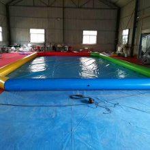 黑龙江大型充气水池 水上乐园厂家热销优质充气滚筒 水上步行球