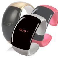 厂价直批 无线蓝牙手镯 手机防丢防盗 免提通话 智能穿戴蓝牙手表