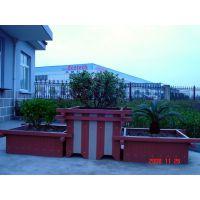 木塑花箱塑木花圃防腐木树池塑木休闲桌椅户外板凳哪家做的好?中国黄山找美森