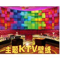 主题式量贩KTV壁画 酒吧壁画定制 KTV主题艺术壁画装饰