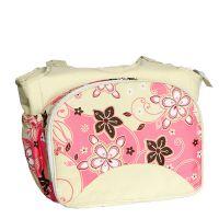 供应 新款户外旅游野餐包单肩斜跨包包 多功能便携妈咪包(Z14)