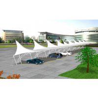 湖北供应景观停车棚/膜结构车棚/景观遮阳棚设计制作
