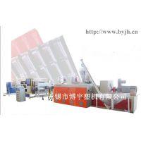 PVC琉璃瓦挤出生产线  86-15152230576