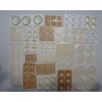 玻璃硅胶垫、家具防滑透明硅胶垫、亚克力防震透明胶垫、展架防撞