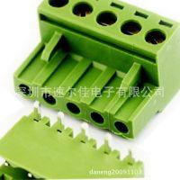 弯针 KF2EDGK 5P拔插式接线端子 脚距5.08MM 300V10A=1