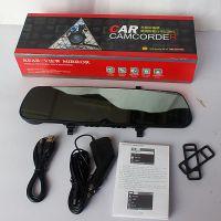 供应厂家直销行车记录仪 高清 新款超薄 C500W后视镜行车记录仪 批发