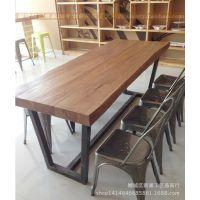 餐椅金属椅子铁皮椅 厂家直销户外餐厅椅欧式复古做旧loft工业椅