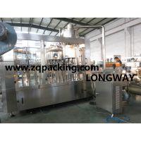 RCGF32-32-10 全自动热果汁冲瓶、灌装、封口三合一机