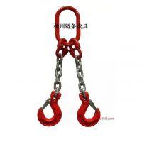 神州SW072设计定做各种规格T8级起重链条索具厂家直销 四叉链成套吊索具、双环起重吊链