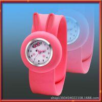 硅胶手表带 彩色移印手表带  4混色logo手表带 食品级硅胶手表带
