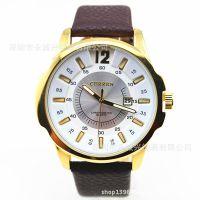 ebay/速卖通热销curren牌子日本进口机芯手表,时尚男表批发