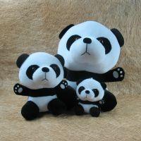厂家定制 毛绒玩具公仔 毛绒玩偶加工 礼品娃娃生产 熊猫定做