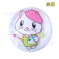 速效热宝 免充电宝热宝 自动发热暖手宝保暖热水袋 (圆形小猫