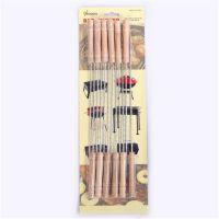 烧烤签 烧烤工具 肉串签 铁签 烧烤针12支装      BL966