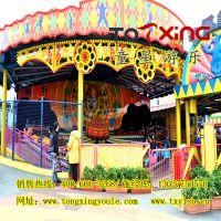 大型户外大型游乐设施雷霆节拍旅游景区畅销新型游艺机郑州童星游乐厂家