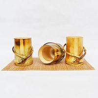 巨匠厂家定制欧式环保畅销外贸手工竹杯茶杯酒杯