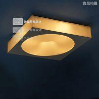 欧式简约卧室客厅餐厅灯具阳台过道灯方形压克力吸顶灯
