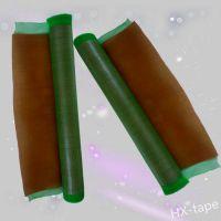 供应网状印刷胶带 网状印刷双面胶厂家定做 绿网印刷贴板双面胶带
