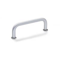 供应德国GANTER品牌GN 425.6手柄,铝制把手结构图,铝制把手参数表