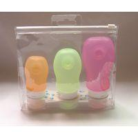 自封袋厂家现货(定做)定制 PVC塑料包装透明立体拉链袋化妆品袋