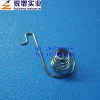 供应东莞镀镍电池弹簧 长安玩具用0.8mm镀镍电池弹簧批发
