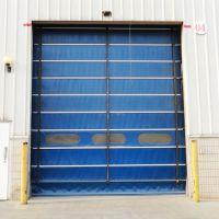 华之扉专供 钢制快速堆积门 自动式软卷帘门 隔音防爆超大柔性门