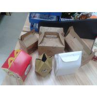 手提式彩盒 食品包装盒 蛋糕糕点纸盒 巧克力精美纸盒东莞定做生产厂家