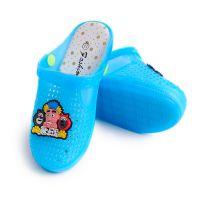 夏季包头儿童凉拖鞋闪光灯鞋 男童女童居家童鞋果冻鞋洞洞鞋