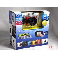 户外运动数码 高清720p 迷你相机 旅游必备 防水摄像机 运动DV