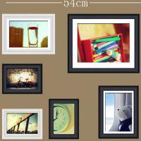 照片墙6框 厂家直销精品创意组合实木照片墙 质量保障批发定制