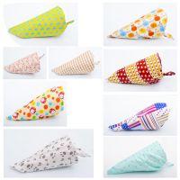 母婴用品 可挑款新款针织纯棉宝宝三角巾 独立包装婴幼儿口水巾