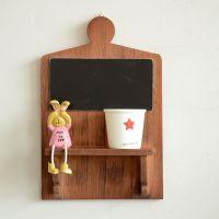zakka 杂货 木质工艺  创意家居摆件置物架 一字隔板  C1026