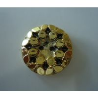 厂家直销  ABS塑料电镀扣  蘑菇电镀扣子 光头古铜纽扣