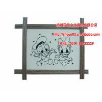 【厂家热销】10寸井字画相框,可用金粉,彩泥,珍珠,丙烯等上色